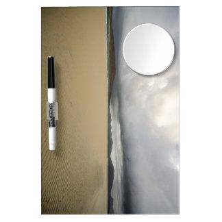 Luskentyre Dry Erase Board With Mirror