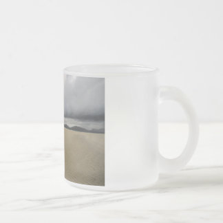 Luskentyre Frosted Glass Coffee Mug