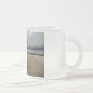Luskentyre Frosted Glass Mug