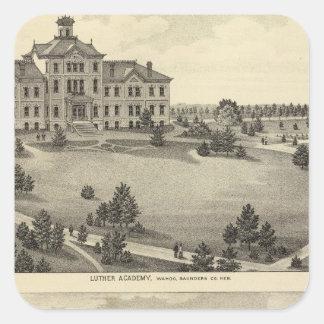 Luther Academy, Nebraska Square Sticker