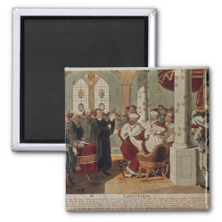 Luther at the Diet of Worms Magnet