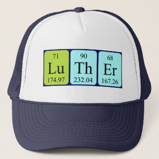 Luther periodic table name hat