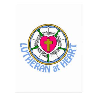 Lutheran At Heart Postcard