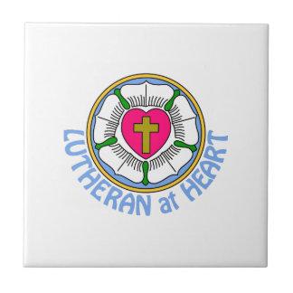 Lutheran At Heart Tile