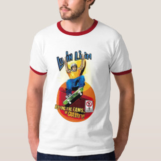 Luvin Livin Skate Boarder Graphic Tee Shirt