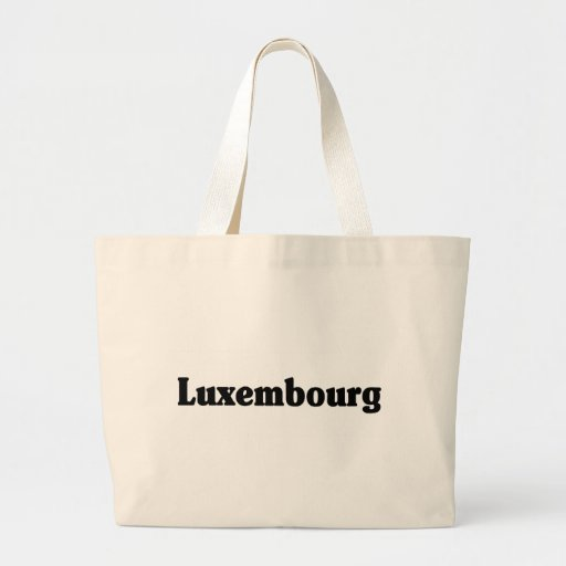 Luxembourg Classic Style Canvas Bags