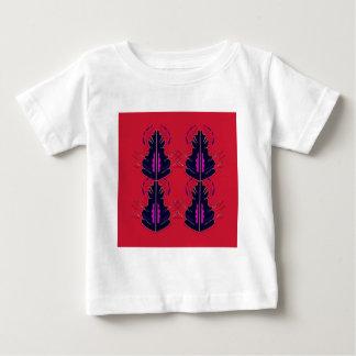 Luxury folk arabic Ornaments RED Baby T-Shirt