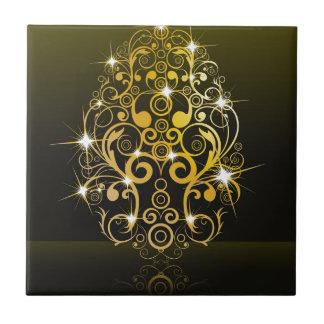 Luxury,golden egg tile