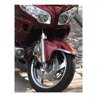Luxury motorbikes 21.5 cm x 28 cm flyer