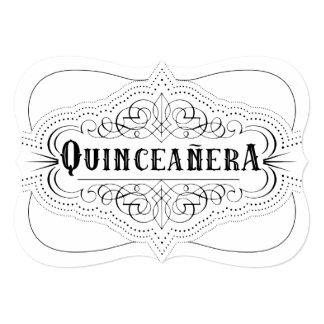 Luxury Paper Quinceañera South Western Invitation
