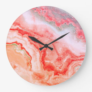Luxury Rose Gold Blush Mineral Agate