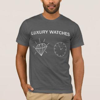 LUXURY WATCHES DARK GREY T-Shirt