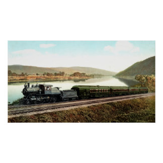LVRR Black Diamond Express Poster