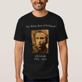 Lydia_Litvyak, The White Rose of Stalingrad, Li... Tshirts
