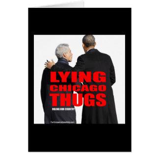 Lying Chicago Thugs Card