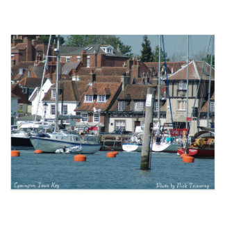 Lymington Town Key Postcard