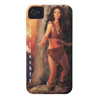 Lyn Liechty CaveMan Iphone Case