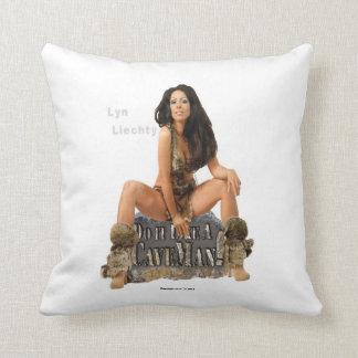 Lyn Liechty Caveman Pillow