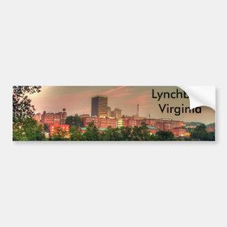 Lynchburg Virginia Car Bumper Sticker