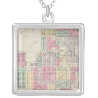 Lyons, Raymond, Chase, Mitchell, Kansas Silver Plated Necklace