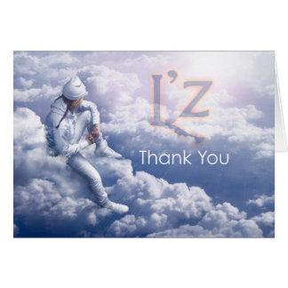 "L'z ""Thank You"" Greeting Card, w/envelope Greeting Card"
