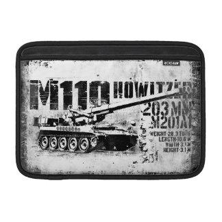 """M110 howitzer 11"""" Macbook Air Sleeve"""