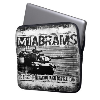 M1 Abrams Neoprene Laptop Sleeve 13 inch