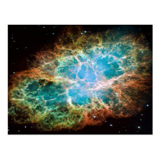 M1-Crab Nebula a Science & Astronomy Gift Idea Postcard