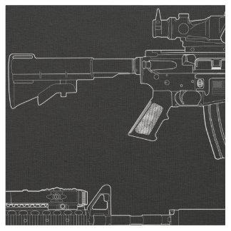 M4 SOPMOD Black Fabric