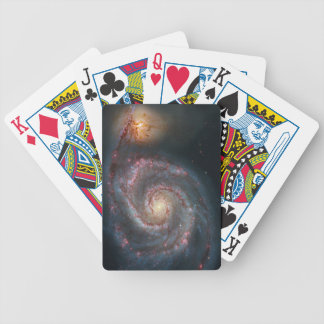 M51 Whirlpool Spiral Galaxy NASA Bicycle Playing Cards