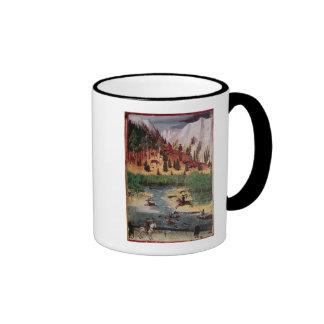 M5751 f.2v Maximilian I hunting deer Coffee Mug