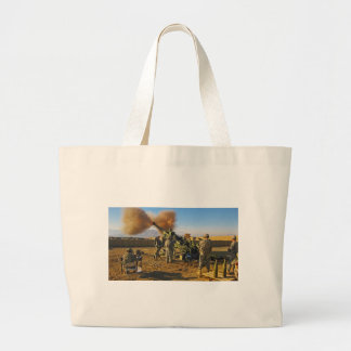 M777 Light Towed Howitzer 10th Mountain Division Jumbo Tote Bag