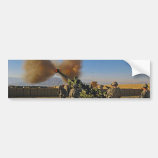 M777 Light Towed Howitzer Afghanistan 2009 Bumper Sticker