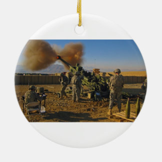 M777 Light Towed Howitzer Afghanistan 2009 Christmas Tree Ornaments
