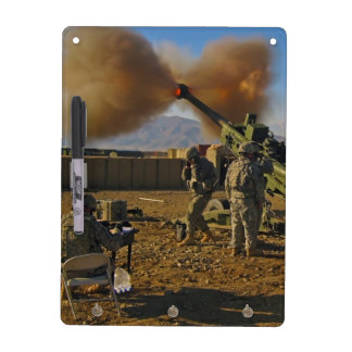 M777 Light Towed Howitzer Afghanistan 2009 Dry Erase Whiteboards