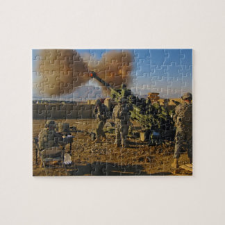 M777 Light Towed Howitzer Afghanistan 2009 Puzzle