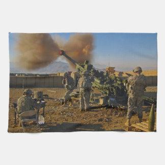 M777 Light Towed Howitzer Afghanistan 2009 Towel