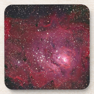 M8 Lagoon Nebula NGC 6523 Coaster