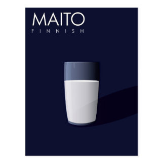M is for Maito, Finnish for Milk - PC Edition Postcard