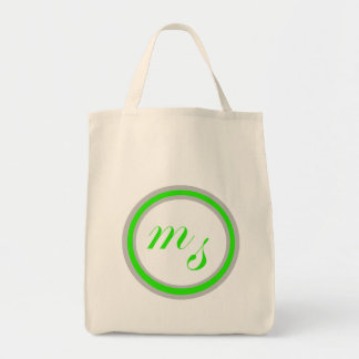 M Sanders grocery shopper bag