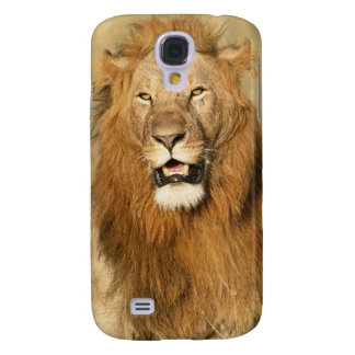 Maasai Mara National Reserve, Male Lion Galaxy S4 Case