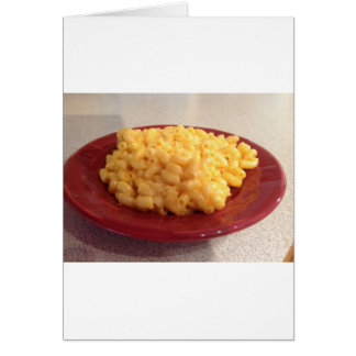 Macaroni and Cheese Card