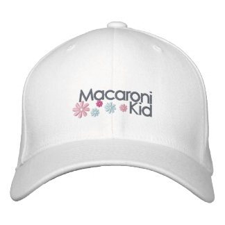 Macaroni Kid Embroidered Cap