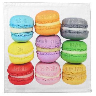 Macarons Cloth Napkins
