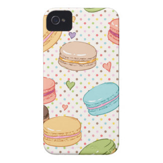 Macarons,cookies,french pastries,food hipster,then iPhone 4 Case-Mate case