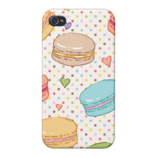 Macarons,cookies,french pastries,food hipster,tren iPhone 4/4S case