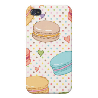 Macarons,cookies,french pastries,food hipster,tren iPhone 4 cover
