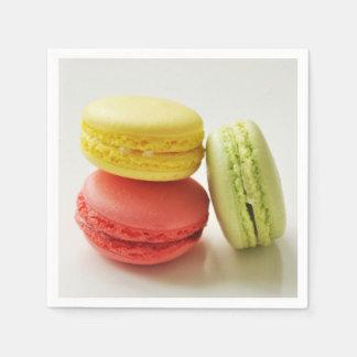 Macaroons / Macarons paper napkins