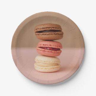 Macaroons / Macarons paper plates