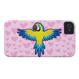 Macaw / Parrot Love iPhone 4 Covers